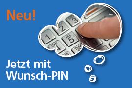 Wunsch-PIN für Ihre VR-BankCard