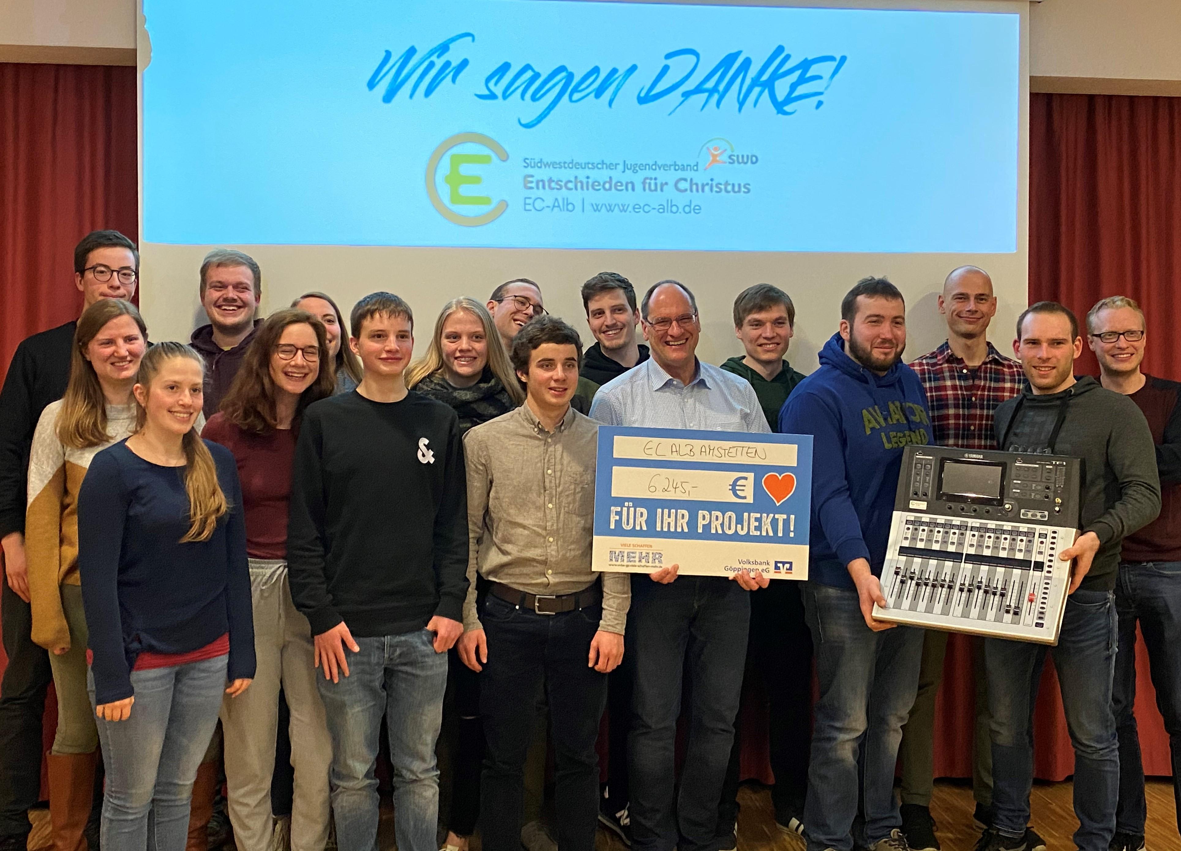 Erneuerung der Technik im evangelischen Gemeindehaus in Amstetten
