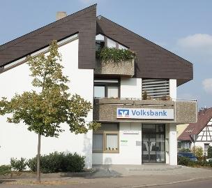 Geschäftsstelle Heiningen / Volksbank Göppingen, Bezgenrieter Str. 12, 73092 Heiningen