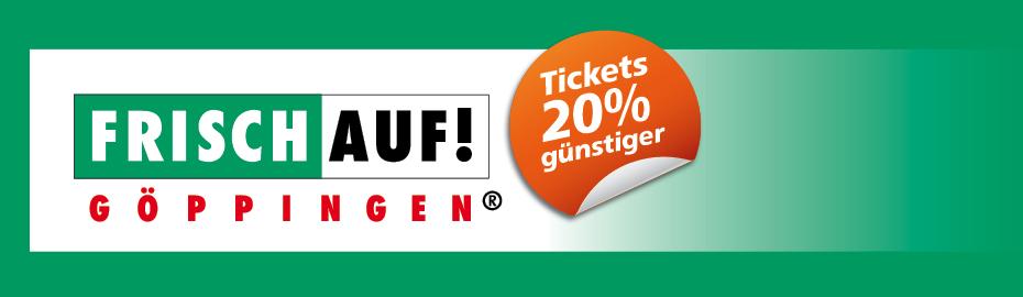FRISCH AUF Göppingen Tickets 20% günstiger