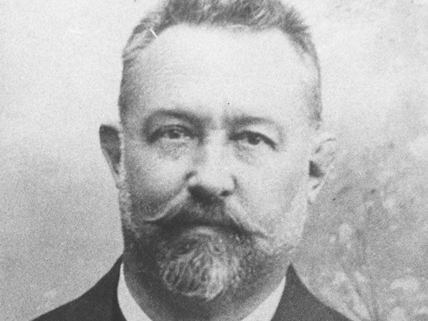 Hermann Gürr (Gründungsmitglied, Kassier, 1890 - 1923)