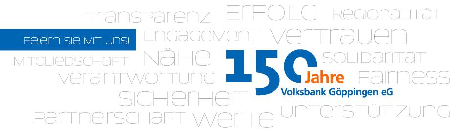 150 Jahre Volksbank Göppingen