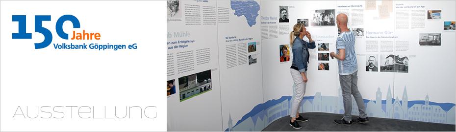 Ausstellung zum Jubiläum