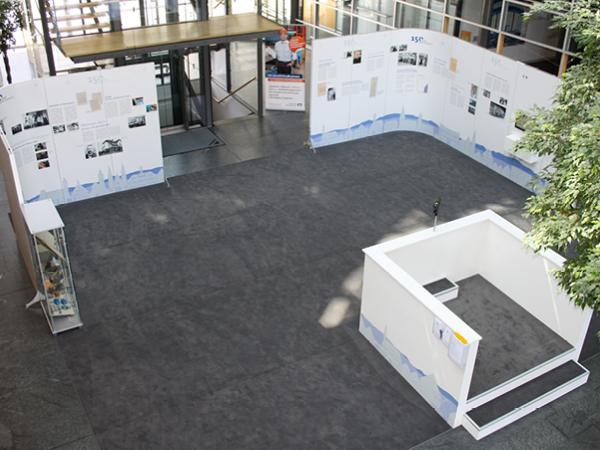 Ausstellung von oben