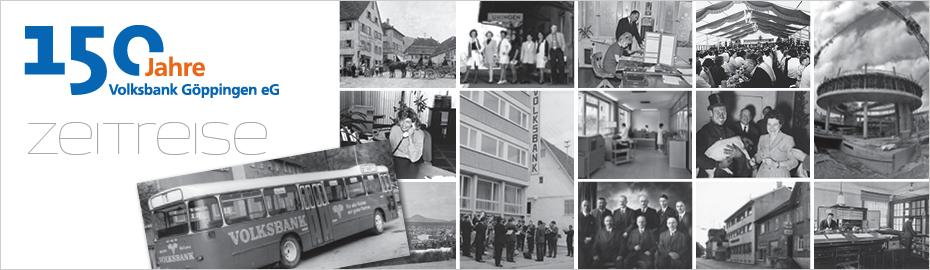 Auf Zeitreise durch 150 Jahre Volksbank Göppingen